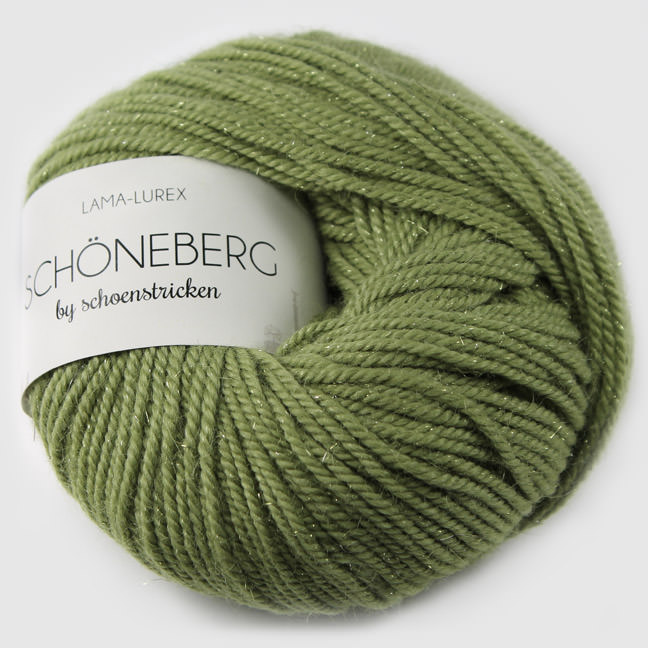 schoenstricken Wolle Schoeneberg 1608 Lindgrün