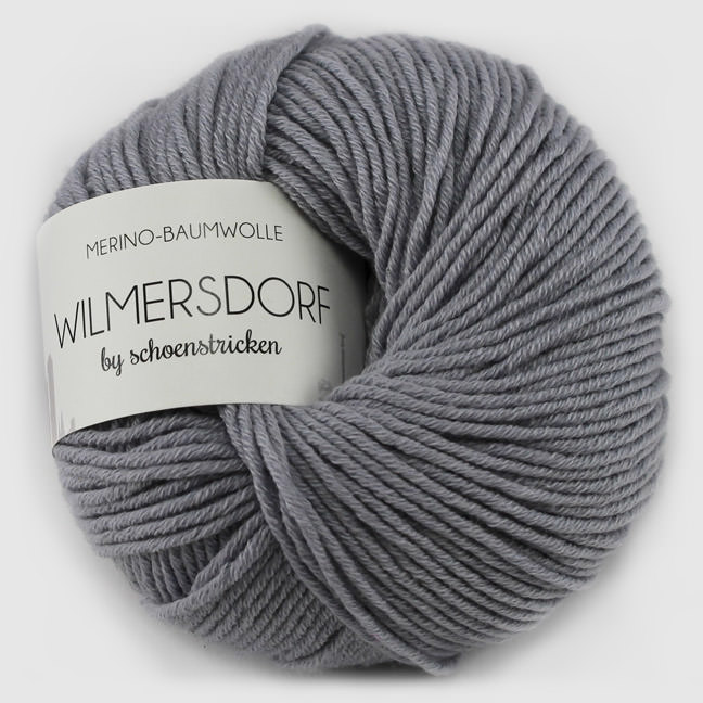 schoenstricken Baumwolle Wilmersdorf graumeliert