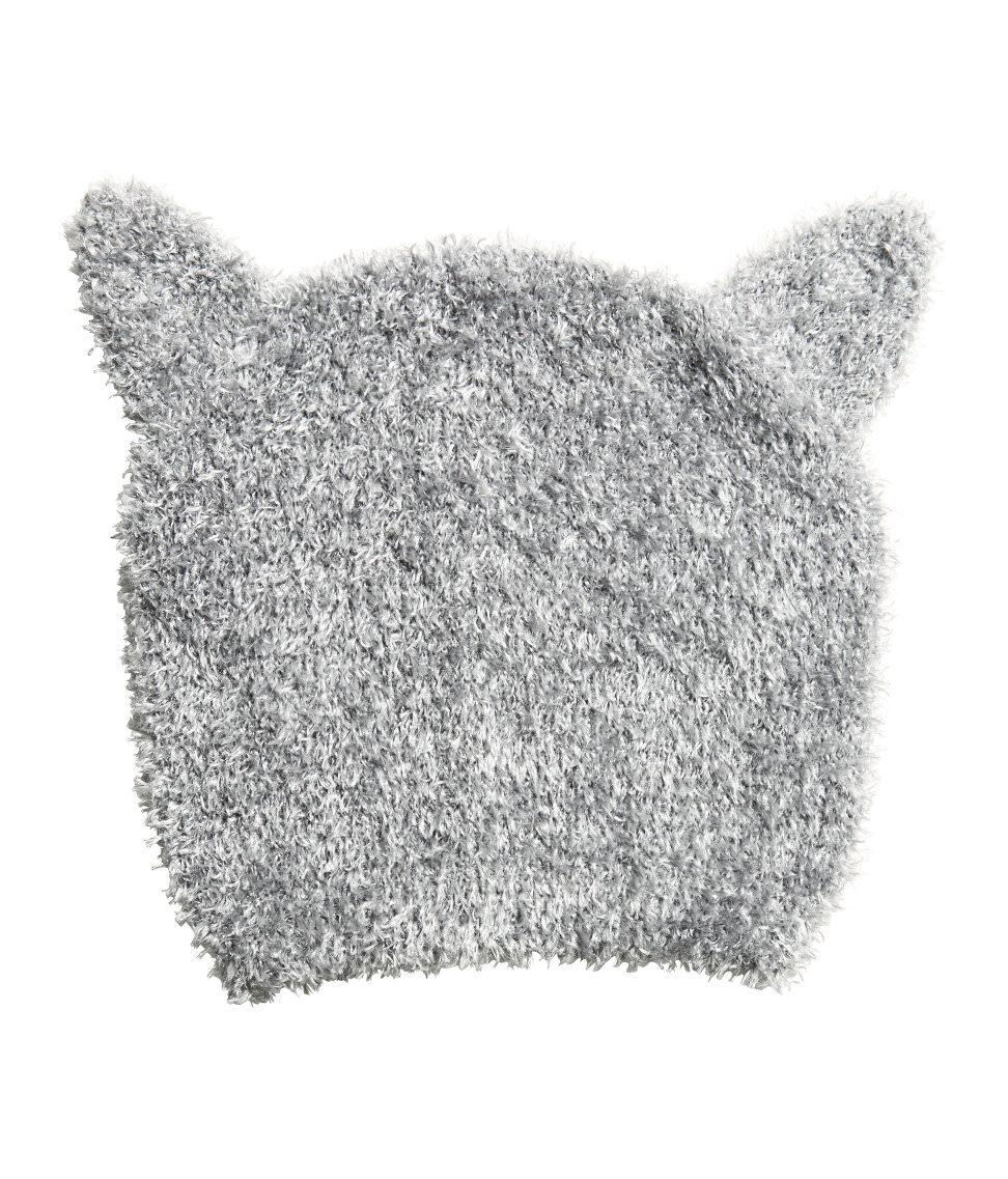 Schoenstrickende Katzenmütze Stricken