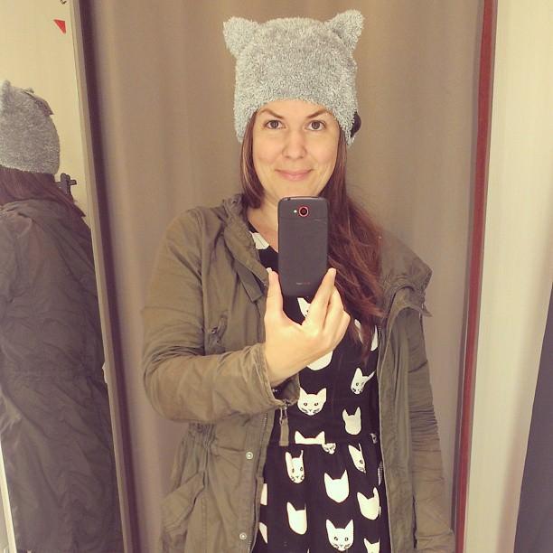 H&M Katzenmütze stricken - schoenstricken.de