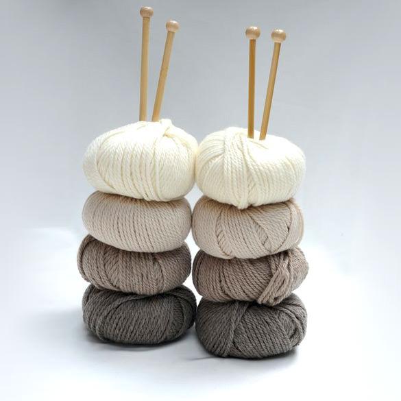 Wolle und Naturgarne - schoenstricken.de