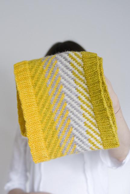 Strickanleitung Loop stricken Pattern ravelry cowl snood knitting - schoenstricken.de