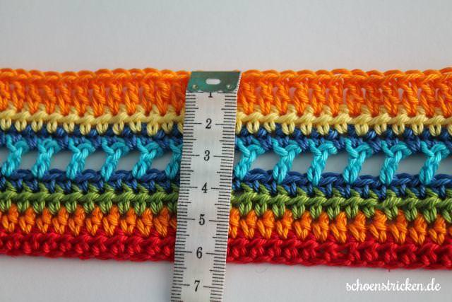 Regenbogendecke Crochet Along - schoenstricken.de