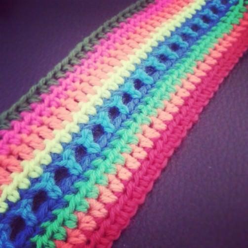 Crochet Along Foto Babydecke 10 Reihen Mienchen schoenstricken.de