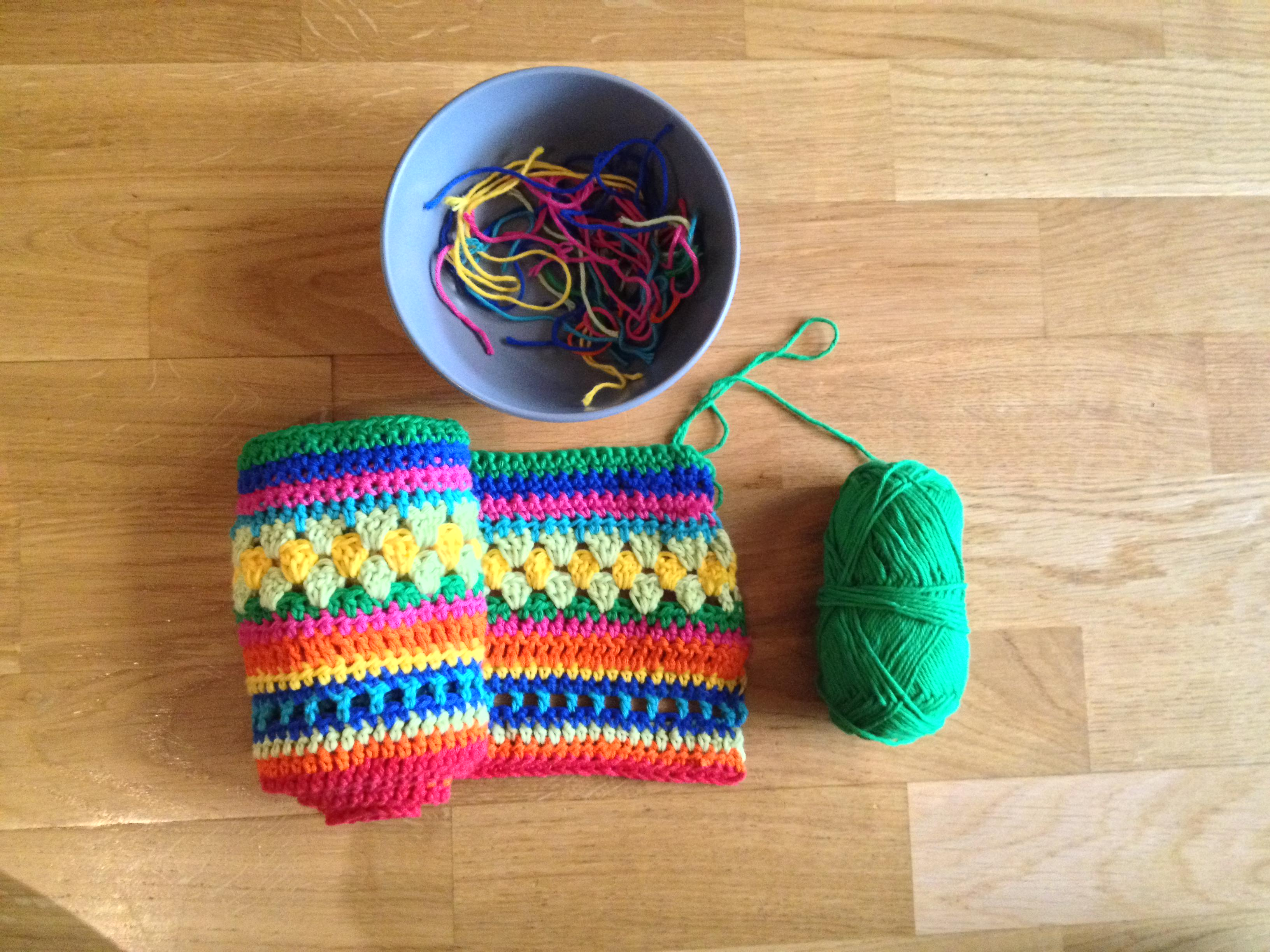 Crochet Along Babydecke Teil 2 Christina - schoenstricken.de