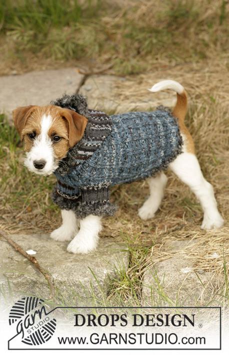 Hundepullis selber stricken Kapuzenpulli- schoenstricken.de