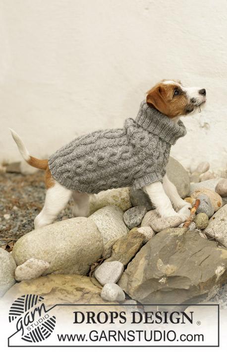 Hundepullover selber stricken Rolli - schoenstricken.de