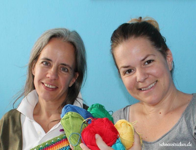 Jessica und Carina Babydecken CAL - schoenstricken.de