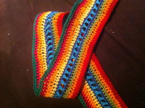 Crochet Alomg Babyblanket Nicole - schoenstricken.de