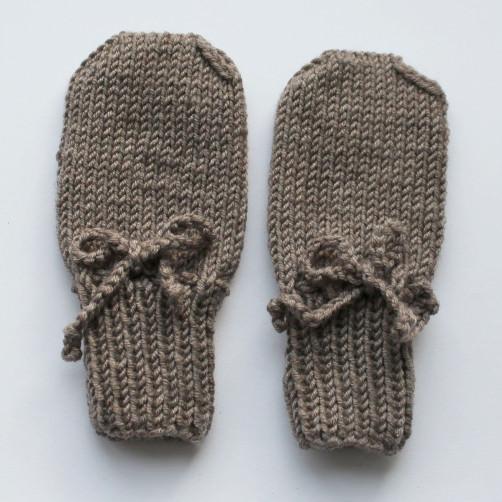 Babyhandschuhe stricken Strickkit Anden schoenstricken