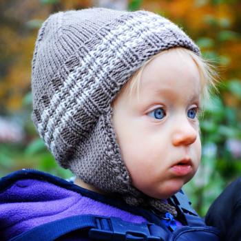 Babymütze Anden Strickkit schoenstricken