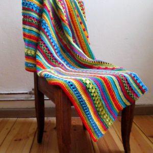 Neue Farbkombis für die Regenbogen-Decke