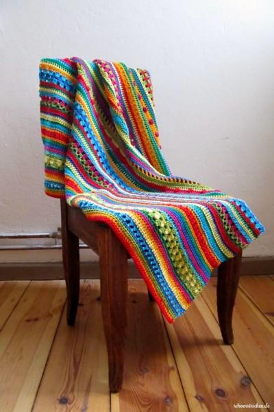 Crochet Along Babydecke Teil 10 Reihe 11 Ende - schoenstricken.de