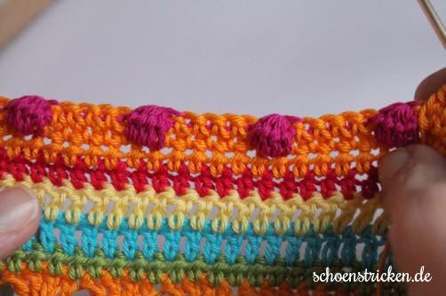 Crochet Along Babydecke Teil 10 Reihe 1g - schoenstricken.de