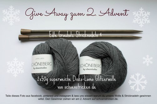 Kit Schöneberg Give away - schoenstricken.de