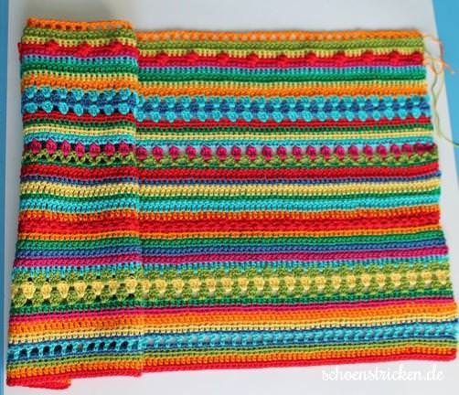 Reihen 1-40 Crochet Along Babydecke schoenstricken.de