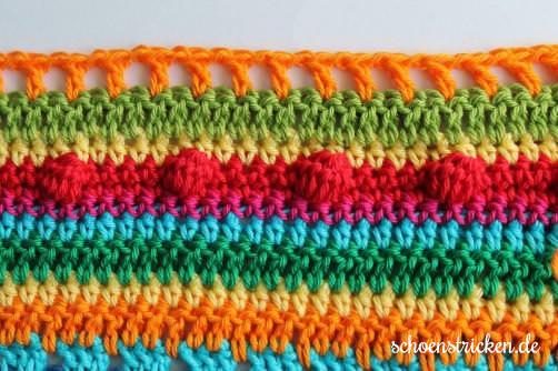 Teil 5 Reihe 10 crochet along - schoenstricken.de