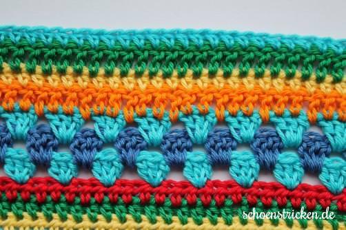 Teil 5 Reihe 4 crochet along - schoenstricken.de