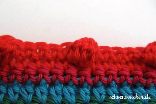 Teil 5 Reihe 7c crochet along - schoenstricken.de