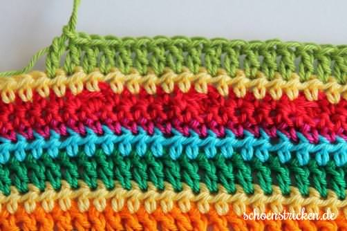 Teil 5 Reihe 9 crochet along - schoenstricken.de