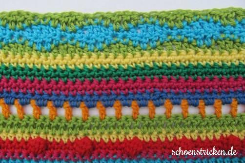Teil 6 Reihe 11 crochet along Babydecke - schoenstricken.de