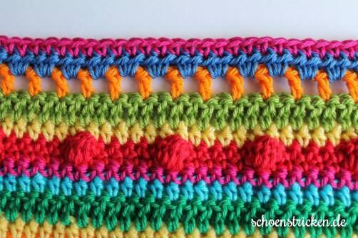 Teil 6 Reihe 2 crochet along Babydecke - schoenstricken.de