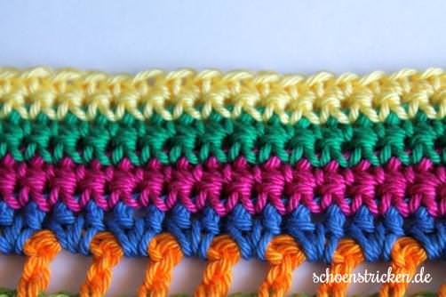 Teil 6 Reihe 7 crochet along Babydecke - schoenstricken.de
