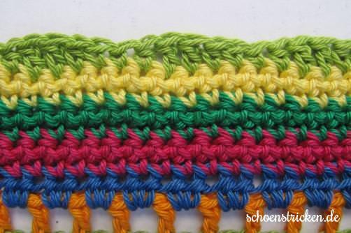 Teil 6 Reihe 8 crochet along Babydecke - schoenstricken.de