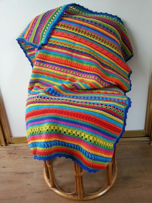 Crochet Along Babydecke von Mariska aus Holland- schoenstricken.de