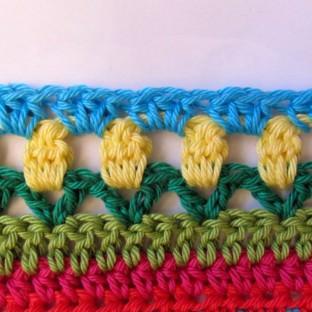Crochet Along Babydecke Teil 12 Reihe 11 - schoenstricken.de