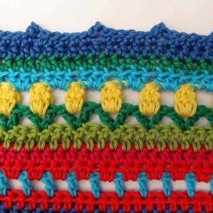 Crochet Along Regenbogen Babydecke Teil 13