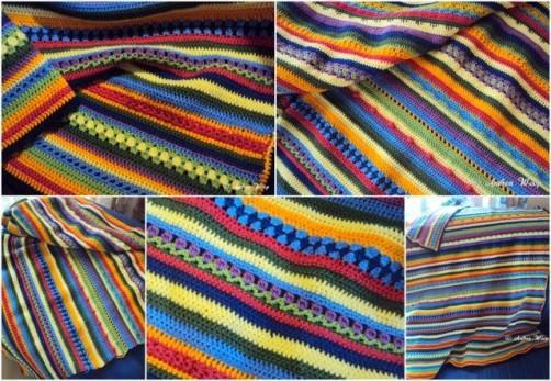 Crochet Along Babydecke von Andrea aus Neuwied - schoenstricken.de