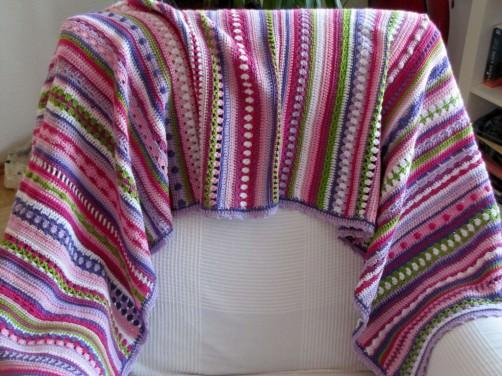 Crochet Along Babydecke von Astrid- schoenstricken.de