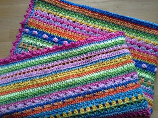 Crochet Along Babydecke von Betty aus Frankfort Oder - schoenstricken.de