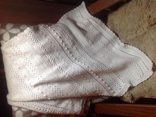 Crochet Along Babydecke von Britta