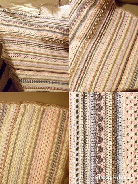 Crochet Along Babydecke von Charly