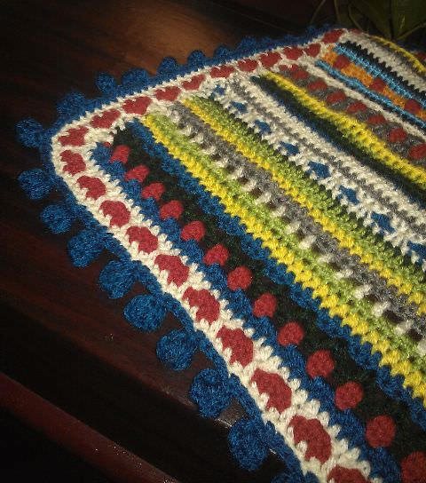 Crochet Along Babydecke von Claudia - schoenstricken.de