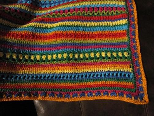 Crochet Along Babydecke von Conny