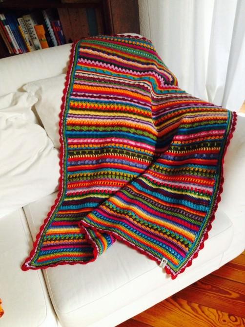 Crochet Along Babydecke von Dagmar - schoenstricken.de