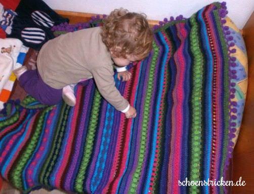 Crochet Along Babydecke von Daniela aus Spanien  - schoenstricken.de