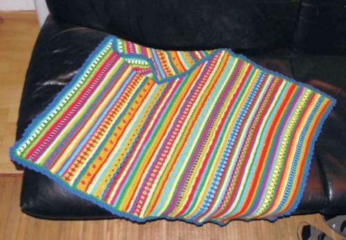 Crochet Along Babydecke von Elisabeth