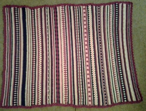 Crochet Along Babydecke von Eva-Maria - schoenstricken.de