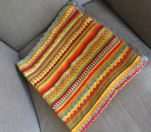 Crochet Along Babydecke von Fränzi - schoenstricken.de