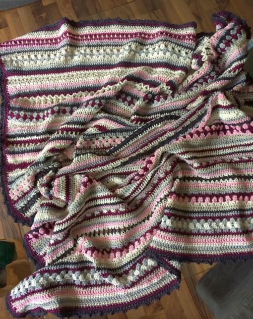 Crochet Along Babydecke von Gabi - schoenstricken.de