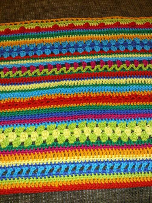 Crochet Along Babydecke von Gabriele aus Bayern  - schoenstricken.de