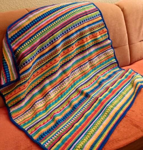 Crochet Along Babydecke von Ines.