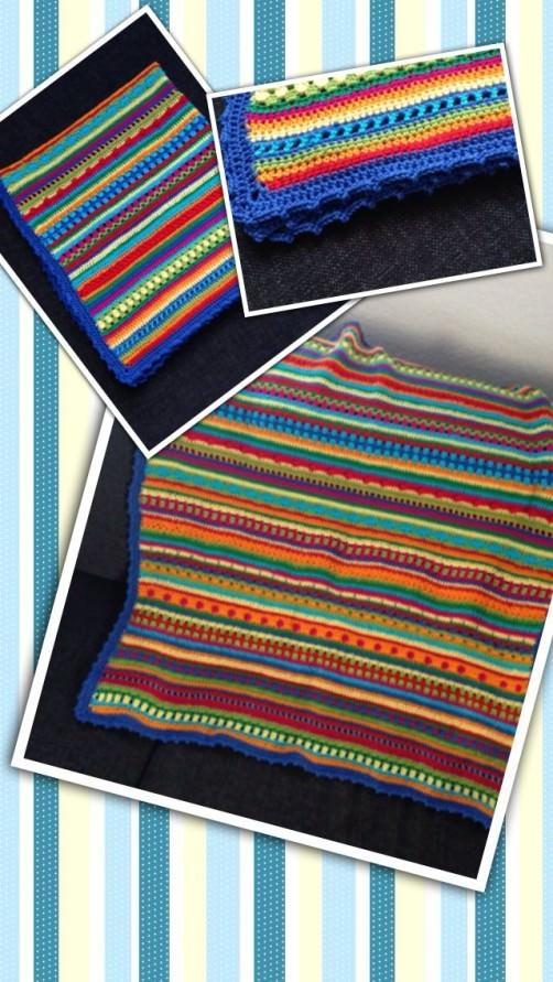 Crochet Along Babydecke von Khaldia- schoenstricken.de