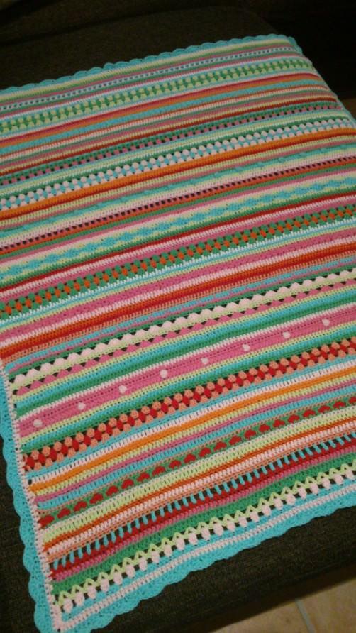 Crochet Along Babydecke von Lucia - schoenstricken.de