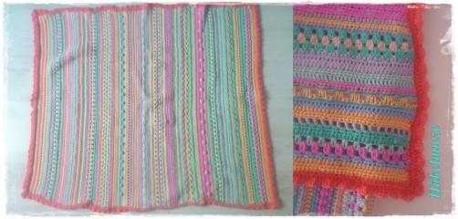 Crochet Along Babydecke von Lysanne - schoenstricken.de
