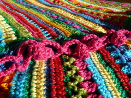 Crochet Along Babydecke von Melanie - schoenstricken.de